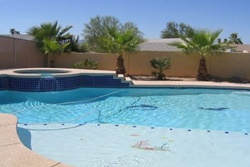 dog friendly vacation rental in lake havasu city sleeping 15 with great saltwater pool, pet friendly wheelchair accessible rentals in havasu arizona