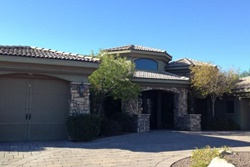 tuscan style custom 4 bedroom home in gated community, lake havasu home rental short term rentals